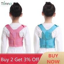 Corrector de postura para espalda hombros espalda Lumbar corrección de apoyo a la cintura para niños, transpirable, duradero y cómodo