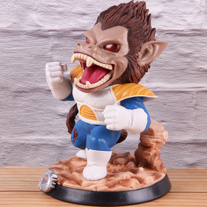 Image 4 - Vegeta Dragon Ball Z PVC Collectible Action Figure Dragonball Model Toy Great Ape Anime GK Statue 18cmAction & Toy Figures   -