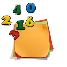 1pcs Colorful Numbers Paper Clips Bookmarks for Books Cute DIY Binder Clips for Note