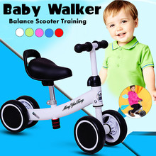 Scooter Tricycle Bike Balance Baby Training Kids 4-Wheels Mini for Ages 12-24-Months