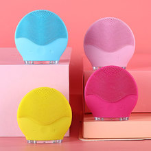 Brush Cleanser Washing-Massager Facial-Cleansing-Brush Sonic-Face Electric Rechargeable