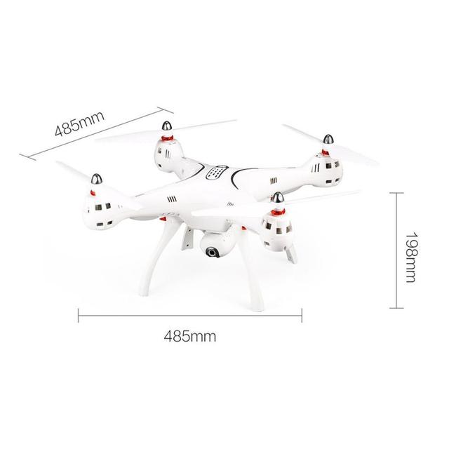 2019 NEW Syma X8 PRO 2.4G GPS Positioning FPV RC Drone with 720P HD Wifi Adjustable Camera Altitude Hold Headless Quadcopter 6