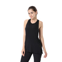 Jeansian Women's Quick Drying Slim Fit Tank Tops Tanktops Sleeveless Vest Singlet SWT239 Black2(China)