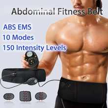 Ems Elektrische Buikspier Afslanken Riem Afvallen Fitness Massage Sway Trillingen Buik Spier Taille Trainer Stimulator