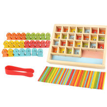 Детские деревянные игрушки магнитные игры для рыбалки детей