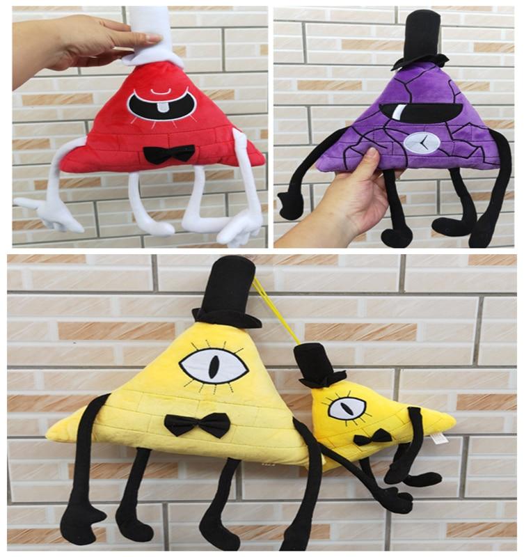 """18/"""" Anime Gravity Falls Bill Cipher Boss Stuff Plush Toys Packpack Kid/'s Gift"""