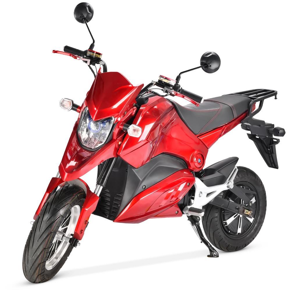 Новейший электрический мотоцикл с толстыми шинами 17 дюймов, Электрический скутер 2000 Вт, бесщеточный Гидравлический Электрический Citycoco для ...