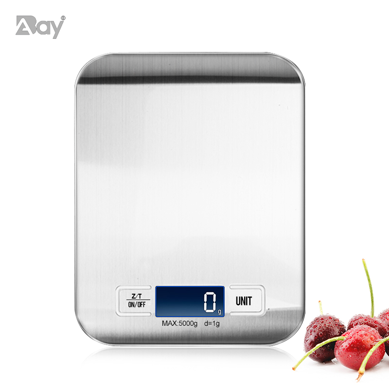 Scale Kitchen Digital Food Scales Weight Electronic With LCD Display Kitchen Accessories Tools For Baking Cooking Gadgets 5/10kg