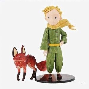 Hape-figura de Anime del Principito y zorro, regalo de San Valentín para novia, juguetes para niños, decoración del hogar, Acción de Gracias, Envío Gratis