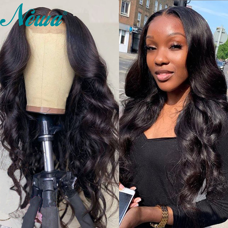 13x6 Body Wave Lace Front Human Hair Wigs Pre Plucked Remy Hair Lace Frontal Wigs With Baby Hair Brazilian Newa Lace Front Wigs