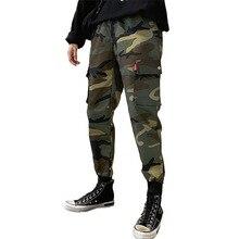 Men Fashion Military Cargo Pants Multi-pockets Baggy Men Pants Casual Trousers Overalls Camouflage Pants Man Cotton fashion brand denim jumpsuit men casual pants multi pockets hip hop overalls for men camouflage outdoors long trousers