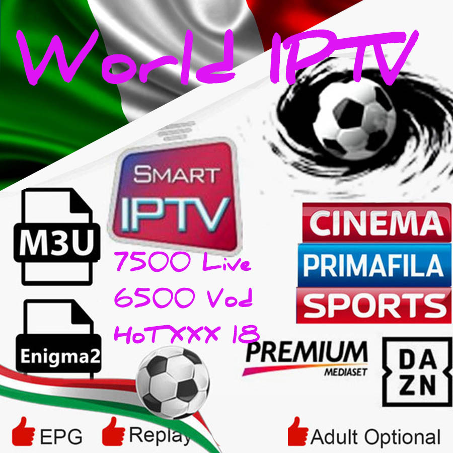 IPTV Arabic Belgium Italy Germany IPTV US M3U Android TV Box Enigma2 M3U Smart TV  Europe French UK Channels Free Code For