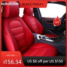 Kokololee Funda personalizada para asiento de coche, de cuero real, para Infiniti FX EX JX G M series QX50 QX56 QX80 Q70L QX60 Q50 ESQ QX30, estilismo para coche