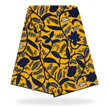 1 ярд африканская настоящая голландская хлопковая восковая ткань с цветочным принтом, настоящая восковая ткань для женщин, платье для вечеринок, рукоделие