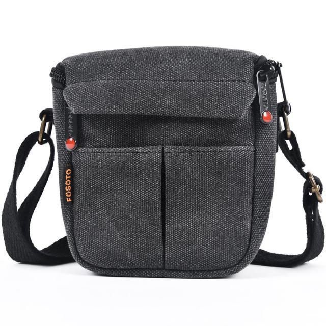 Fusitu – sac à bandoulière pour appareil photo, pour Canon EOS M100 M50 M10 M6 M3 M2 SX540 SX530 SX520 SX510