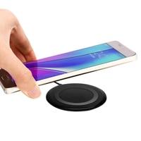Cargador inalámbrico rápido ultradelgado de 10W, almohadilla de carga para iPhone 8 Plus XS MAX XR, Samsung Galaxy S9 S8 Note 9 8, inducción