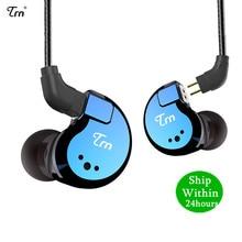 TRN V80 2BA+2DD Hybrid Metal In Ear Earphone HIFI DJ Monito Running Sport Earphone Earplug Headset Detachable Cable AS10\T2\V30