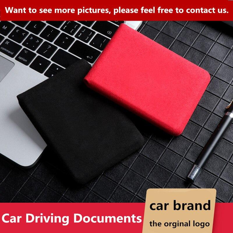 Auto Fahr Dokumente Auto Führerschein Kreditkarte Tasche Fall Abdeckung Halter für toyota camry chr corolla rav4 yaris prius