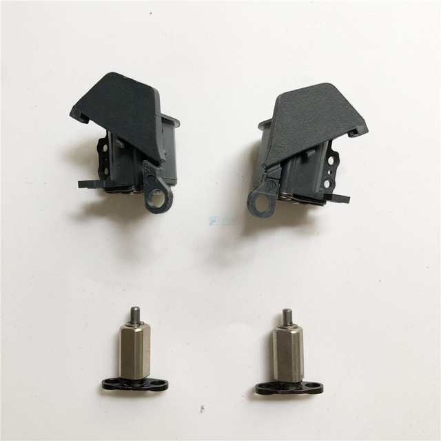 Genuine DJI Mavic Pro Part   Front Left Right Arm Axis Rear Shaft Metal Pivot with Bracket  for Replacement (Used)
