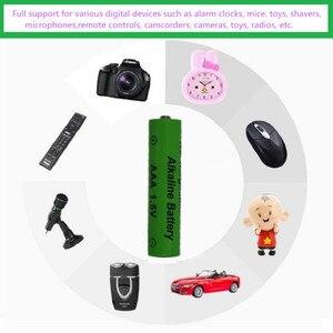 Image 2 - Yüksek enerji verimliliği ve düşük kendi kendine deşarj 1.5V LR03 AAA şarj edilebilir alkalin pil oyuncak kamera için shavermice