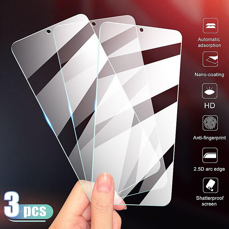 3 pçs cobertura completa de vidro temperado no para oneplus 7 7 t protetor de tela para oneplus 6 t 5 5 t 3 t 7 7 t película de vidro protetora