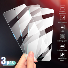 3Pcs Full Cover Tempered Glass on the For OnePlus 7 7T Screen Protector For OnePlus 6 6T 5 5T 3 3T 7 7T Protective Glass Film