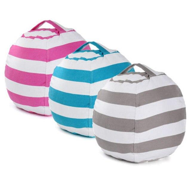 Stuffable Animal Toys Storage Bean Bag Stuffed Children Kids Plush Toy Organizer Multi-Purpose Large Capacity 4