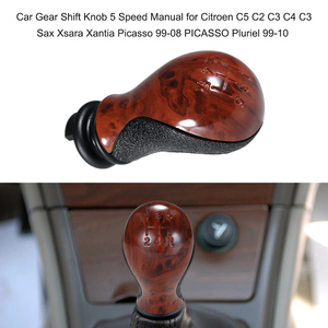 5 Speed Car Gear Shift Knob Stick Manual Shift Lever for Citroen C5 C2 C3 C4 C3 Sax Xsara Xantia Picasso 99-08 PICASSO Pluriel