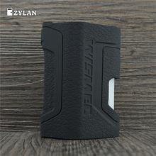 ZYLAN Silicone Case For Wismec Luxotic Df 200w Mod Texture  Protective Cover Skin Accessories Wrap Sleeve Gel Decal Durable