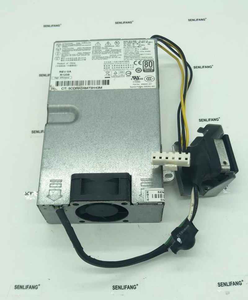 656932-001 658263-001 D11-230P1A DPS-230QB A  Power Supply For Elite 8300 AIO All In One 230W Well Tested