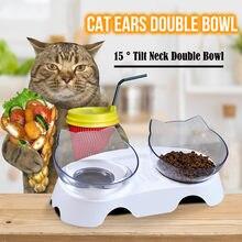 Gato tigela de cão de estimação gato de alimentação lenta proteger espinha tigela de proteção bebendo tigela de estômago saudável multi-purpose tigela de alimentos