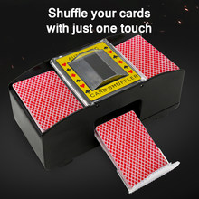 Machine à Shuffle électrique automatique, jeu de cartes de Poker, divertissement de fête, mélangeur de cartes, essentiel