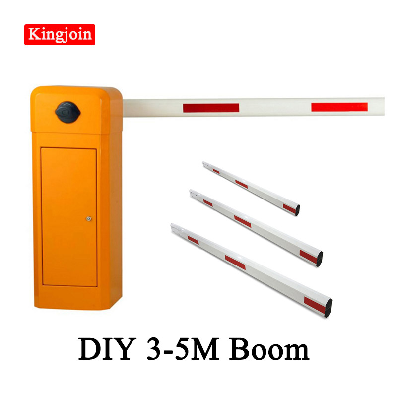 Remote Control Door Arm Mechanical Automatic Parking Door Fence DIY 3-5m Boom Electric Parking Arm, Opening Time Is 6 Seconds