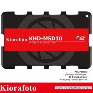 Image 3 - Kiorafoto Camera Accessories Memory Card Holder SD/MSD/Micro SD/TF Protector for Canon 1300d/Nikon D5300/Sony A6000 Lightweight