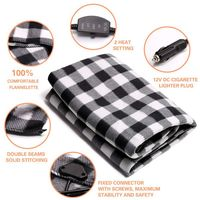 12V Car Heating Seat Cover Cushion Practical Keeping Warm Car Electric Blanket For Cold Weather 12V car electric blanket