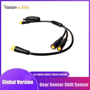 Image 1 - ミッドモーターギアセンサーため BAFANG BBS01 BBS02 BBSHD 3 ピン 1 コネクタ 24 センチメートルシフトギアセンサー Y ケーブル BAFANG センサー