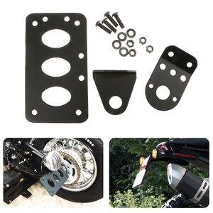 Image 1 - Moto Sinistra/Destra di Licenza Piastra di Montaggio Supporto Parafango Targa Basamento della Staffa PER Honda KTM Per Yamaha Etc Moto accessori