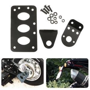 Image 1 - Motorcycle Left/Right License Plate Mount Holder Fender Number Plate Bracket Stand FOR Honda KTM For Yamaha Etc Moto Accessories