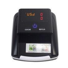 Iqd/rub detector de notas falsas portátil, detector de moedas falsas euro e eur