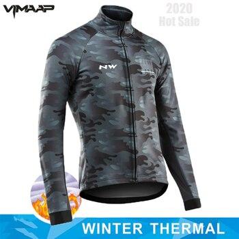 Chaqueta de ciclismo de lana térmica para hombre, ropa deportiva para ciclismo...