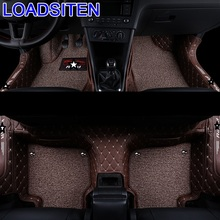 Modification Decoration Accessories Protector Accessory Styling Automovil Parts Decorative Carpet Car Floor Mats FOR Skoda Rapid