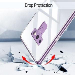 Image 3 - ESR süper sert temperli cam durumda Samsung Galaxy not 9 için kılıf kapak telefon tampon Samsung not 9 cep telefon aksesuarı
