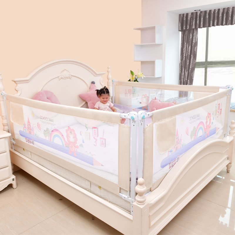 Image 3 - Baby Bed Fence Home Kids playpen Safety Gate Products child Care Barrier for beds Crib Rails Security Fencing Children Guardrail-in Baby Playpens from Mother & Kids