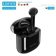 EDIFIER TWS200 Qualcomm aptX auricolare Wireless Bluetooth 5.0 TWS auricolari cVc Dual MIC cancellazione del rumore fino a 24 ore di riproduzione