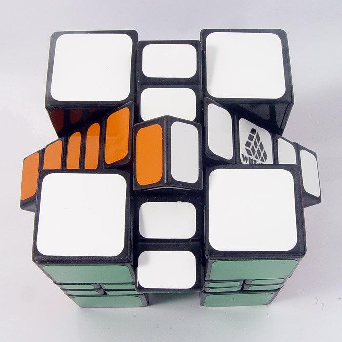 Oryginalny WitEden Mixup Plus 3x3x4 tunelu czasoprzestrzennego magiczna kostka Puzzle kolekcja Cubo Magico profesjonalne zabawki edukacyjne dla dla dzieci
