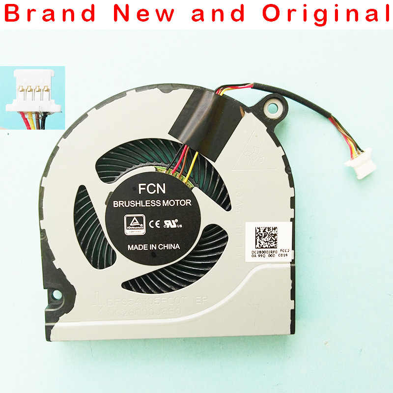 New Laptop CPU Cooling Fan Cooler Notebook PC untuk Acer FCN DFS541105FC0T Fjcl DC 5V 0.5A Seri Dc28000jrfo