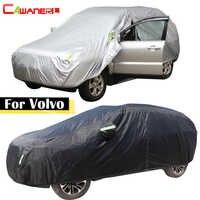 Cawanerl для Volvo C30 S40 V40 V50 S60 S70 XC60 XC70 XC90 V60 V70 чехол для автомобиля Защита от солнца, снега, дождя, пыли авто чехол водонепроницаемый