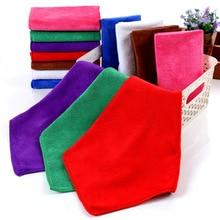 Handkerchief Cotton Towel Two-Layer Tulle Super-Fiber 30x30cm