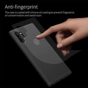 Image 2 - 삼성 갤럭시 노트 Samsung Galaxy Note 10 10 + Plus Pro 5G 플러스 5g 케이스 백 커버 지원 무선 충전 nillkin 플렉스 퓨어 케이스 소프트 실리콘 고무