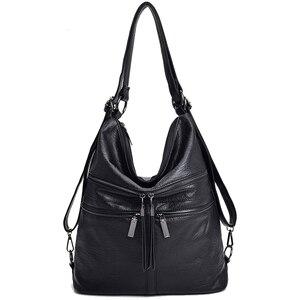 Image 1 - Multifunctional ladies handbags girls luxury diagonal bags ladies bags designer handbags backpacks ladies travel shoulder bags